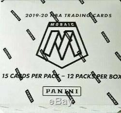 2019-20 Panini Mosaic Basketball Factory Sealed Cello Box