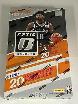 2019-20 Panini Optic Retail Box NBA Basketball Box Factory Sealed box