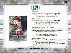 2019 Bowman Chrome Hobby Baseball Unopened Factory Sealed Box 12ct 2 AUTOS