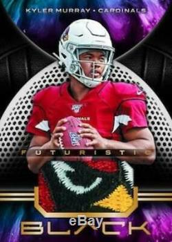 2019 Panini Black NFL Hobby Box Factory Sealed (Sold Out Online Exclusive!)