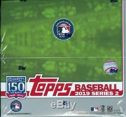 2019 Topps Baseball Series 2 Factory Sealed Retail Box