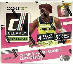 2020-21 Panini Clearly Donruss Basketball Factory Sealed Hobby Box