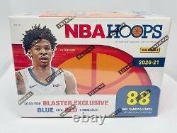 2020-21 Panini NBA Hoops Blaster Box 88 Cards Brand New Factory Sealed