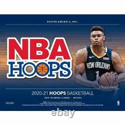 2020-21 Panini Nba Hoops Basketball Factory Sealed Hobby Box Pre Sale