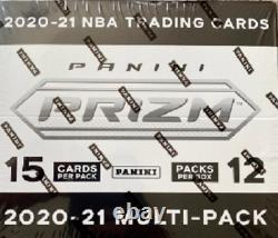 2020-21 Panini Prizm Basketball Cello Box Factory Sealed Fat Pack New