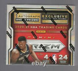 2020 21 Panini Prizm Basketball Factory Sealed Retail Box 1 Auto 24 Packs