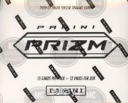 2020-21 Panini Prizm Epl Soccer Cards Factory Sealed 12 Pack Fat Pack Box