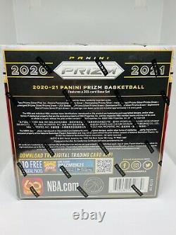 2020-21 Panini Prizm NBA Basketball Mega Box Brand New Factory Sealed