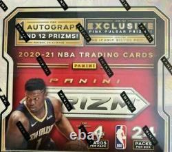 2020-21 Prizm Basketball 24pk Retail Box Factory Sealed 1 Auto Per Box