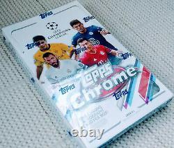 2020-21 Topps Chrome UEFA Champions League Soccer Hobby Box Factory Sealed