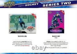 2020-21 Ud Series 2 Hockey Factory Sealed Hobby Box Canada Ship Only Ship