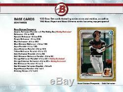 2020 Bowman Baseball (1) Unopened Factory Sealed Hobby Box Presell April 15