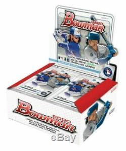 2020 Bowman Baseball Factory Sealed 24ct Retail Box