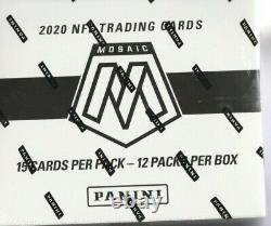2020 Mosaic Football Cello Box Factory Sealed