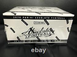 2020 Panini Absolute Football Jumbo/Fat Pack Box. Brand New Factory Sealed Box