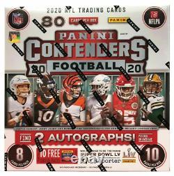 2020 Panini Contenders NFL Factory Sealed 10-Pack Mega Box Fanatics Exclusive