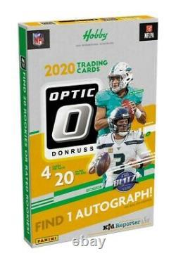 2020 Panini Donruss Optic Football Hobby Box(s) Factory Sealed Ship 2/18