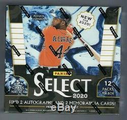 2020 Panini Select Baseball Factory Sealed Hobby Box
