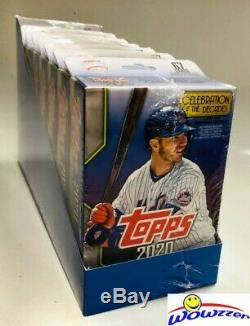 2020 Topps Series 1 Baseball EXCLUSIVE Hanger Case-8 Factory Sealed Box-536 Card