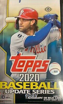 2020 Topps Update Baseball Factory Sealed Hobby Box