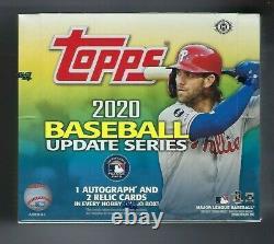 2020 Topps Update Series Baseball Factory Sealed Jumbo Hobby Box