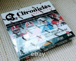 2021 Panini Chronicles Draft Picks Football Hobby Box Factory Sealed