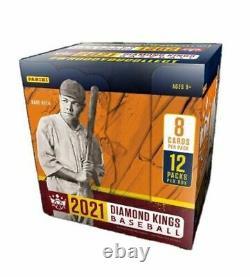 2021 Panini Diamond Kings Factory Sealed Hobby Box