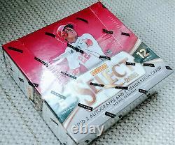 2021 Panini Select Baseball Hobby Box Factory Sealed