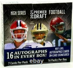 2021 Sage Hit High Series Football Hobby Box 16 Auto Per Box! Factory Sealed
