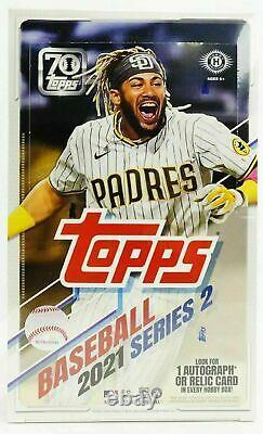 2021 Topps Series 2 Baseball Factory Sealed Hobby Box Free S/h Qty