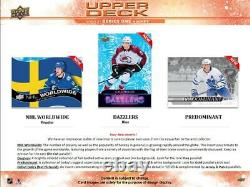 20-21 Ud Series 1 Hockey Factory Sealed Hobby Box Canada Ship Only