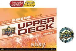20-21 Ud Series 1 Hockey Factory Sealed Hobby Box Pre-sell Canada Ship Only