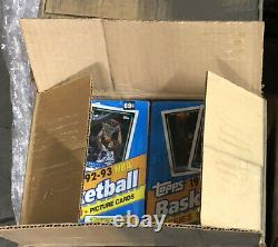 92-93 Topps Series 1 Basketball Cards (Factory Sealed Box From A Master Case)
