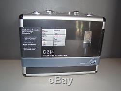 AKG C214 Studio Condenser Microphone Factory Sealed Retail Box