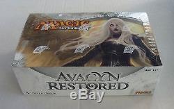 AVACYN RESTORED MTG FACTORY SEALED BOOSTER BOX MAGIC THE GATHERING CARDSHARK