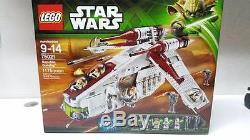 Brand New in Box Lego STAR WARS 75021 Republic Gunship Factory Sealed