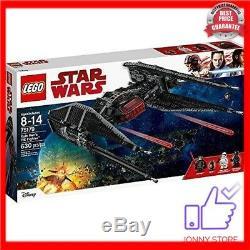 Brand new LEGO Star Wars Kylo Ren Tie Fighter 75179 Building Kit factory sealed