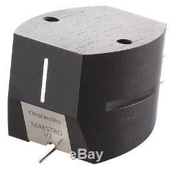CLEARAUDIO MAESTRO V2 EBONY MM V 2 CARTRIDGE NEW BOXED FACTORY SEALED WARRANTY