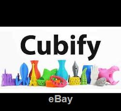 CUBE X 3D Printer Frost Cubify 401383 CubeX By XEROX NEW IN FACTORY SEALED BOX