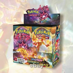 DARKNESS ABLAZE 1/2 Booster Box 18 Packs FACTORY SEALED Pokemon