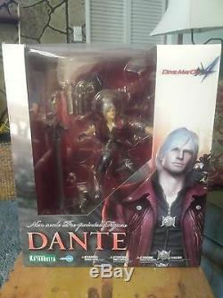 Devil May Cry 4 Dante ARTFX PVC Statue Kotobukiya New in Factory Sealed box