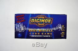 Digimon Series 1 Booster Box 36 Packs 1st Edition Brand New & Factory Sealed