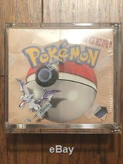 FACTORY SEALED Fossil Pokemon Booster Box, HOLOFOIL, BGS/PSA Quality, NO RESERVE