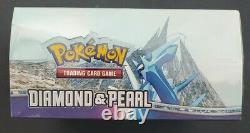 FACTORY SEALED Pokémon Diamond and Pearl Booster Box BEAUTIFUL BOX