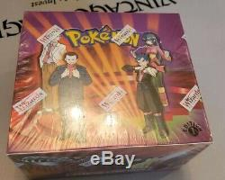 FACTORY SEALED Pokemon Gym Challenge 1st Edition Booster Box, BGS/PSA/HOLOFOIL