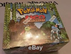 FACTORY SEALED Pokemon Neo Discovery Unlimited Booster Box, BGS/PSA/HOLOFOIL