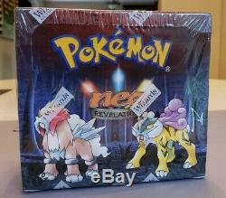 FACTORY SEALED Pokemon Neo Revelation 1st Edition Booster Box, BGS/PSA/HOLOFOIL