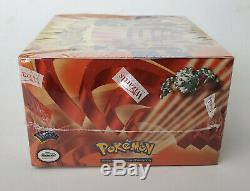 Factory Sealed 2000 Pokemon Gym Heroes Booster Box (36 packs)