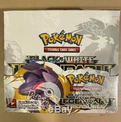 Factory Sealed Pokémon B&W LEGENDARY TREASURES Booster Box NINTENDO 36 Packs
