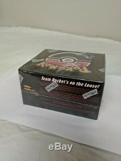 Factory Sealed Unopened 1st Edition Team Rocket Pokemon Cards Booster Box